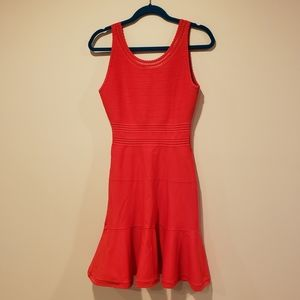 Diane Von Furstenburg Red Dress size small